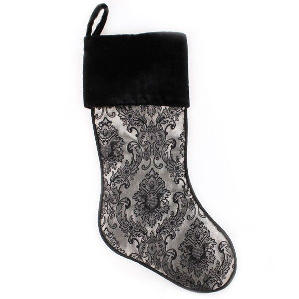 Luxe Jacquard Christmas Stocking