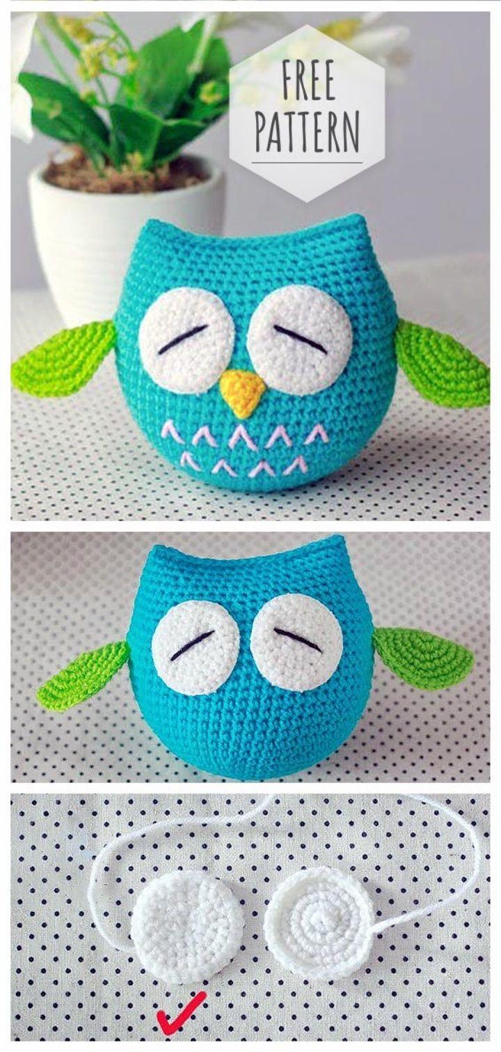 Free Pattern Amigurumi Owl