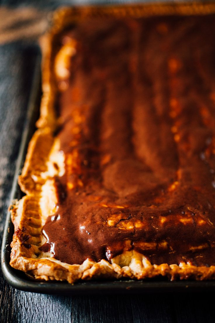 Smores Pop Tart Slab Pie