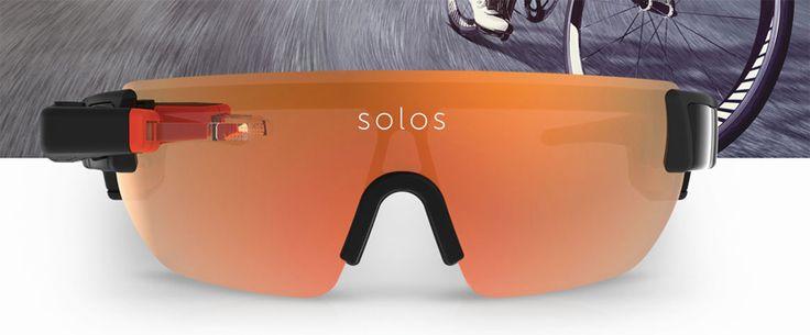 Las gafas inteligentes para ciclistas se llaman Solos