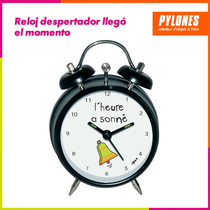 Reloj despertador ya es tiempo? #Hogar #Casa #Color