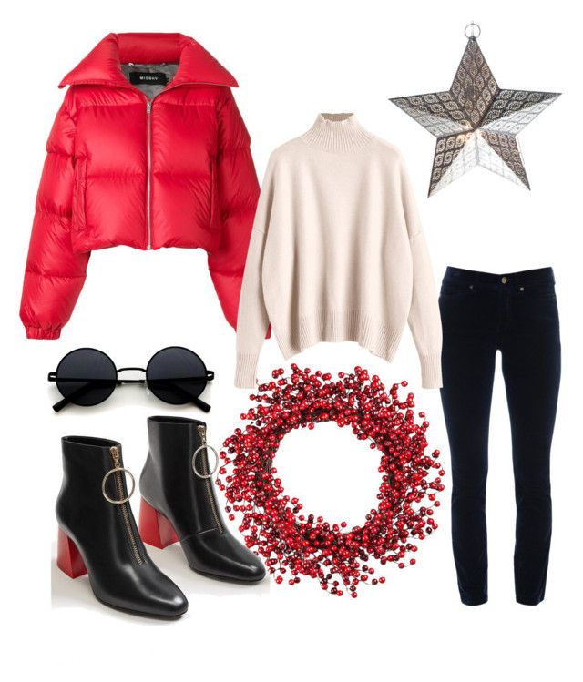 """""""Puffer jacket"""" by wearitblack on Polyvore featuring Improvements, MISBHV, Cambio and MANGO"""