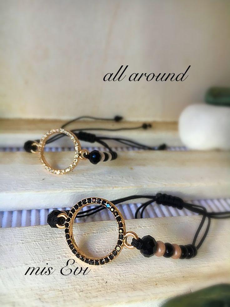 All around!!! Handmade bracelets