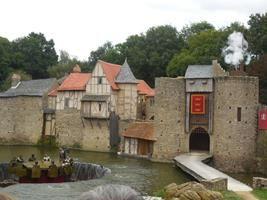 Parque temático medieval.Pui du fou, expectácular.Día maravilloso Detalle de mi viaje en Nantes, Francia