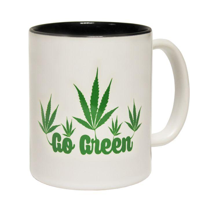 123t USA Go Green Design Funny Mug