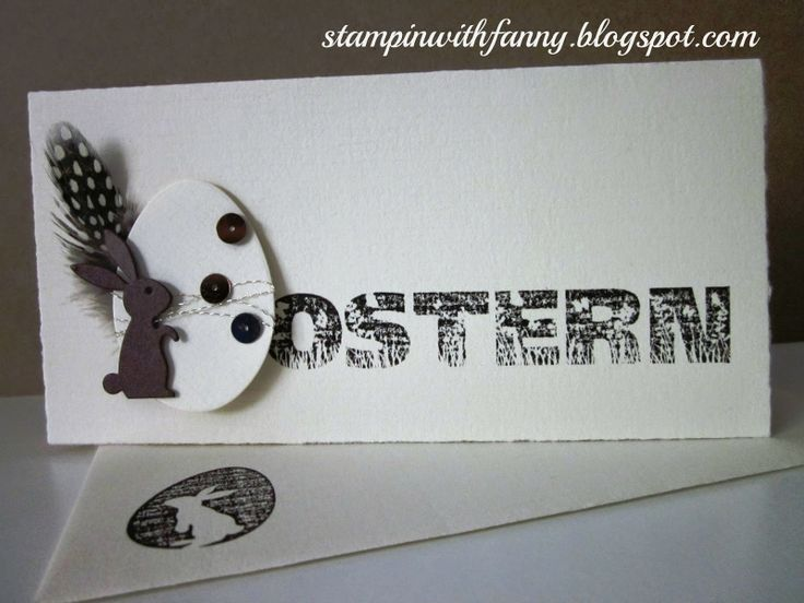 stampin with fanny: easter card