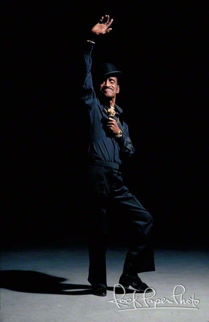 Sammy Davis Jr. What was more beautiful, his dancing or his singing? What a toss up!