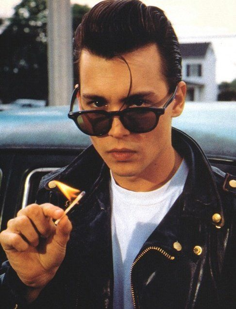 Wade 'Cry-Baby' Walker (Johnny Depp) in Cry-Baby (1990)