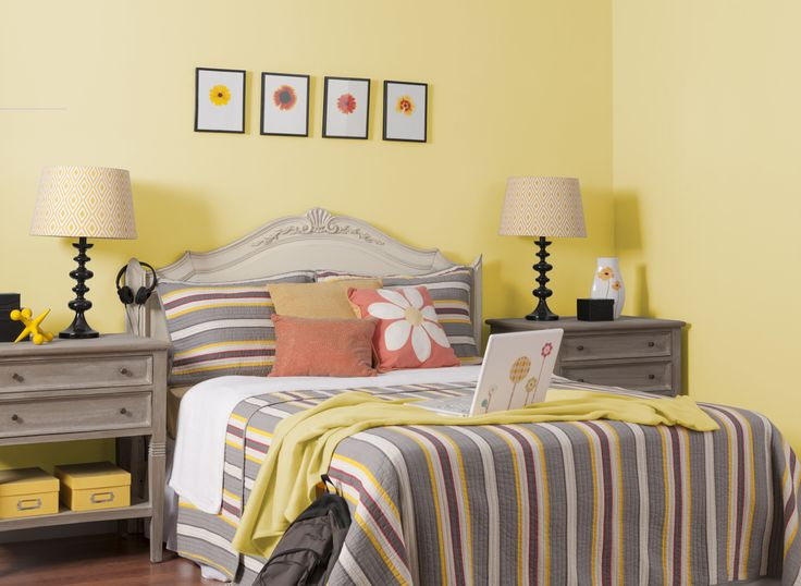 168 best images about paint colors on pinterest editor for Bedroom yellow paint