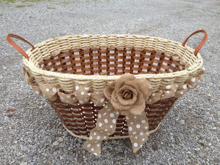 Shabby Chic Collection Laundry Basket