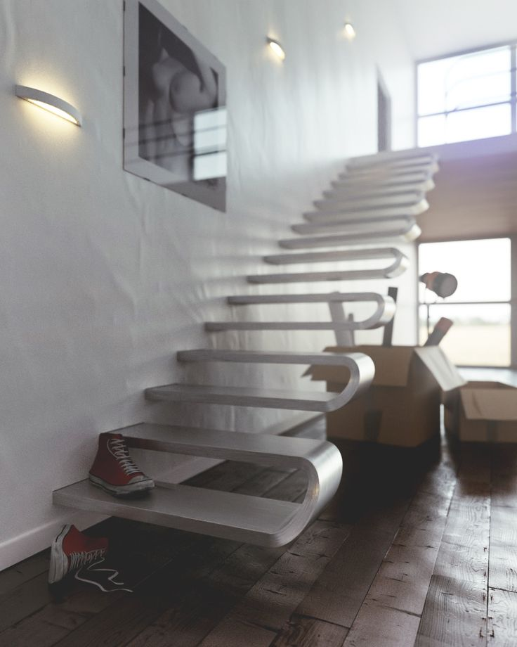 'Ribs', a staircase designed by Tecnicalbrida, Alan Zirpoli and Gabriele Mariotti