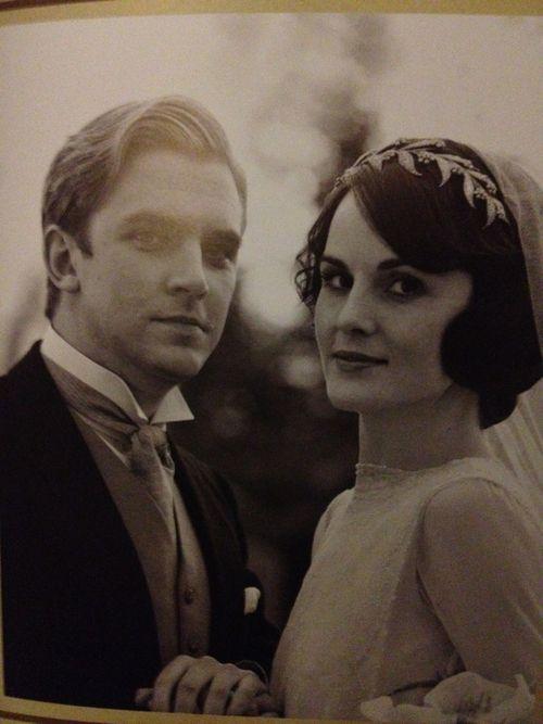 MARY AND MATTHEW WEDDING PORTRAITFavorite Things, Vintage Weddings, Downtonabbey, Wedding Portraits, Wedding Planners, Downton Abbey, Mary Crawley, Matthew Crawley, Lady Mary
