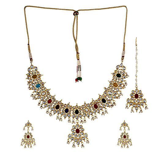 Elegant Indian Bollywood Gold Plated Multi color Stone Cz... https://www.amazon.ca/dp/B06XVTK14P/ref=cm_sw_r_pi_dp_x_Hfl2ybWYB17K3