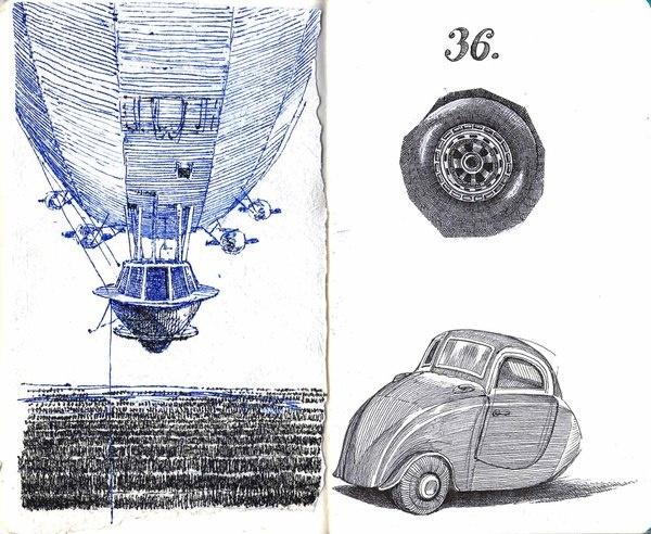Sketchbook 05 by Bogdan Lupescu, via Behance