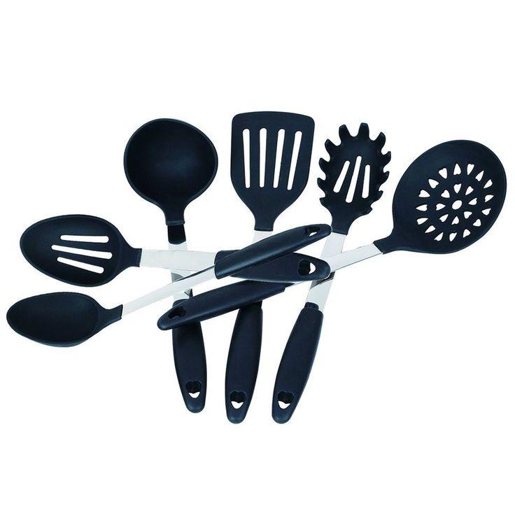 1000 ideas about silicone kitchen utensils on pinterest for Kitchen tool set of 6pcs sj