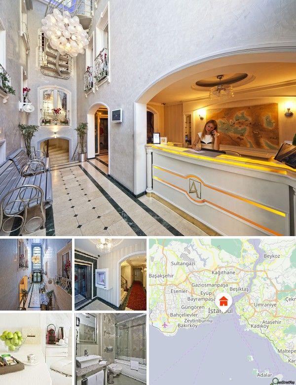 Cet hôtel élégant situé au cœur de vieux Istanbul permet d'accéder facilement à pied aux attractions du quartier de la Mosquée Bleue. L'aéroport d'Istanbul Ataturk est à 15 kilomètres et l'arrêt de tram Sultanahmet est à 700 mètres de l'hôtel.