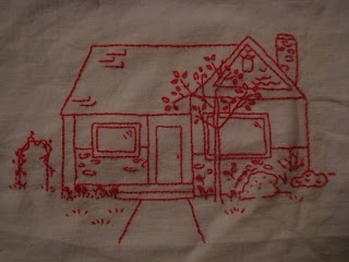 Cute tutorial -- how to turn your home (or RV, as the case may be) into a stitchery!  :)