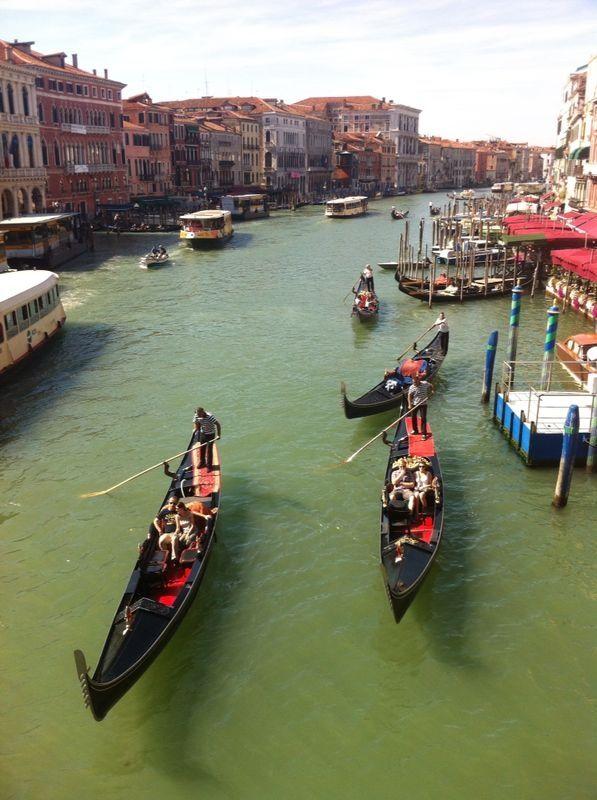 The romantic beauty of Venice