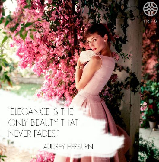 Audrey Hepburn was and always will be an inspiration of femininity. #IWearIvanaRosova www.ivanarosova.com