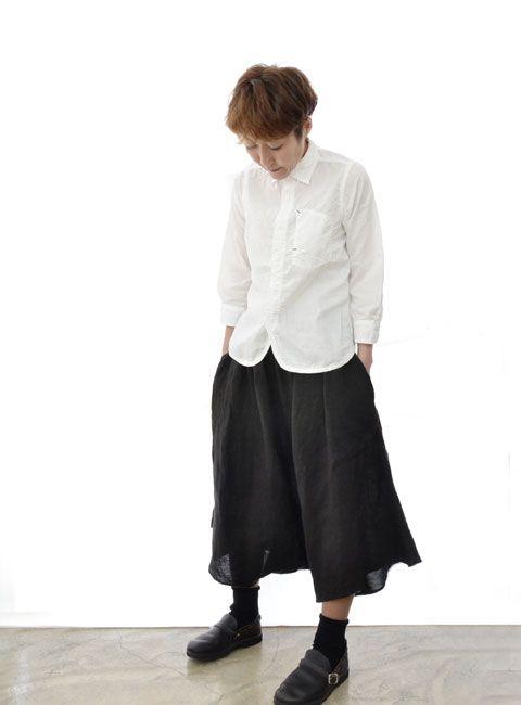【楽天市場】【Soi-e】 ソワ 手織り リネン KHADI 変形スカート:GOAHEAD5GO