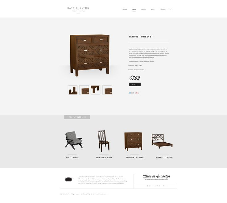 #Minimal product page for furniture site #Webdesign #UI