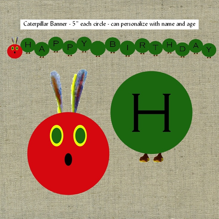 40 Best Images About A Very Hungry Caterpillar On