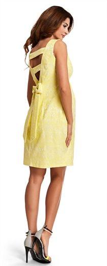 Nectarine banana  вечернее платье для беременных
