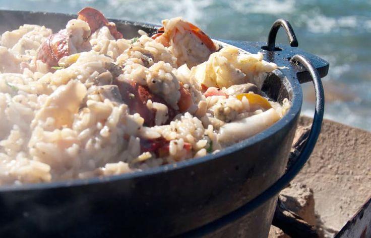 Seafood #potjie! #potjiekos www.onsgaanbraai.nl