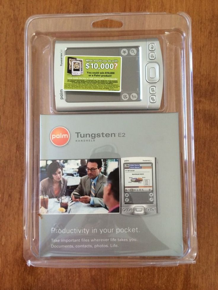 Palm Tungsten E2 Handheld PDA 1045NA - NEW #Palm