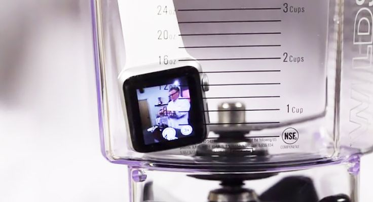 Will the Apple Watch blend? Watch to find out! #Blendtec #WillItBlend