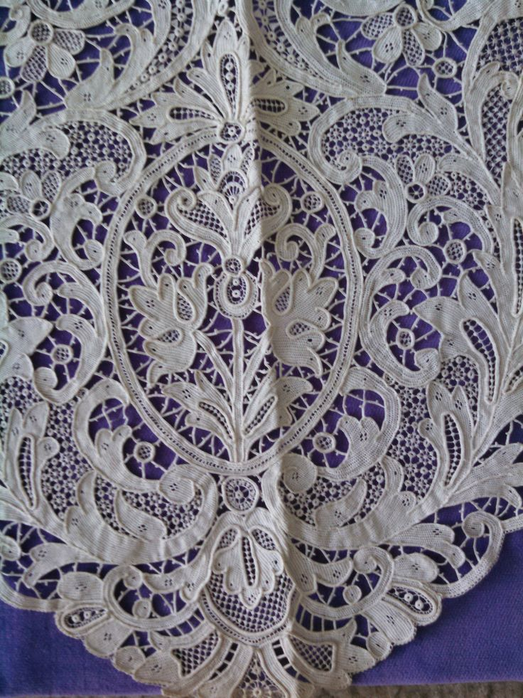 Venise needlelace - detail