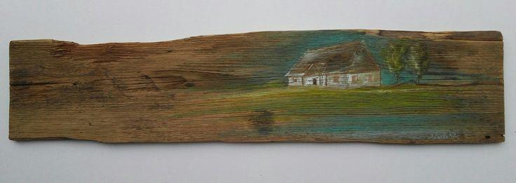 Obrazy olejne na starych deskach, obrazy Sylwia Michalska, www.artpracownia.wordpress.com