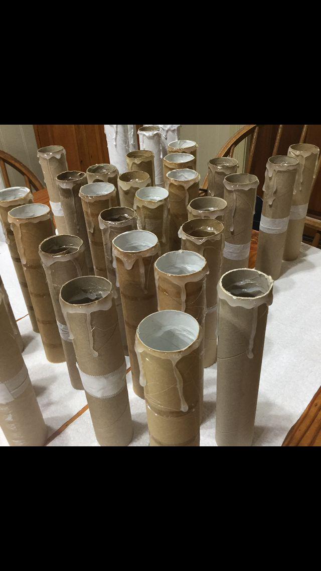 DIY floating candles / Harry potter