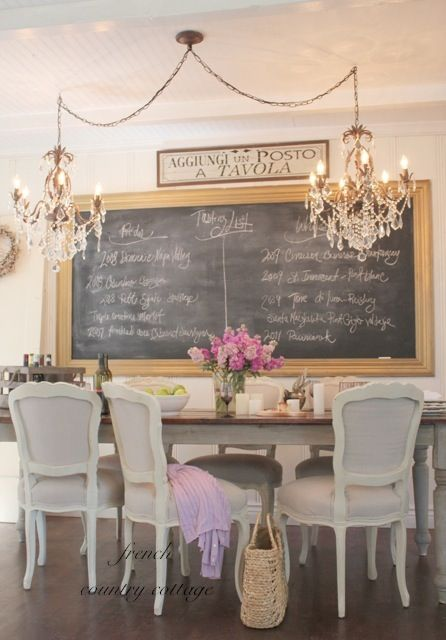 A Little Bit of Bling - FRENCH COUNTRY COTTAGE