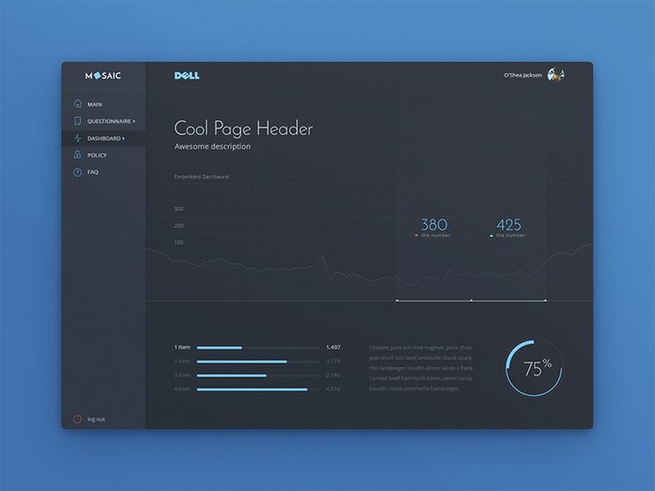 Dashboard clear version by uixNinja - Dribbble