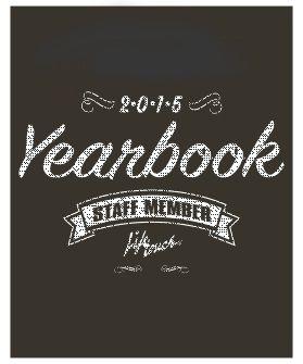 2014-15 yearbook staff shirt!