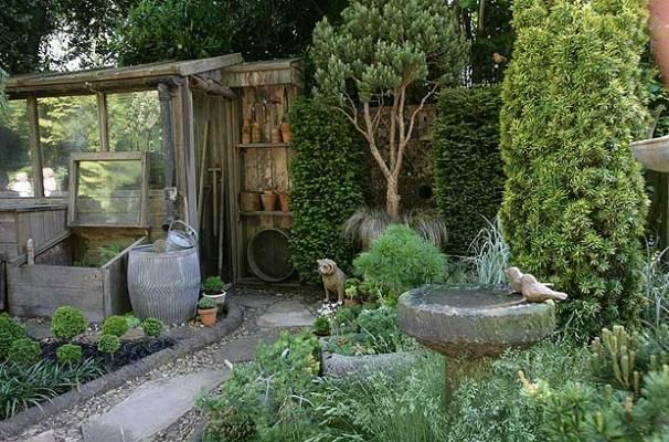 The Pine and Conifer Enthusiasts Garden - Chelsea Flower Show 2010: Great ideas for small gardens