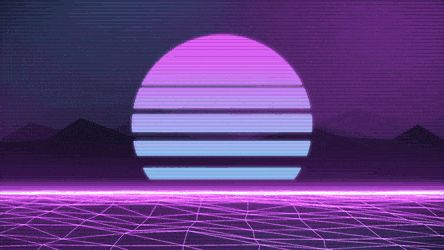 [OC] Classic (a Wallpaper Engine background) : outrun