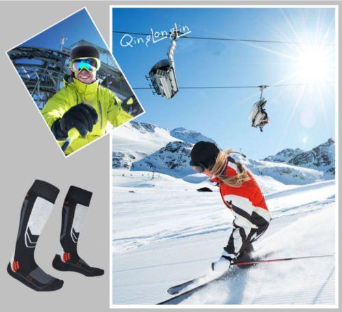 Men-039-s-Ski-Socks-Thick-Cotton-Towel-Bottom-Warm-Stockings-Outdoor-Sport-Hiking