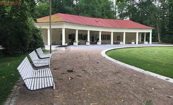 Klatovy obnovily Mercandinovy sady, městský park opět slouží veřejnosti