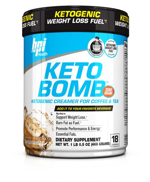 Keto bomb is a keto weight loss supplement that taste amazing, but it helps fuel your ketogenic weight loss goals, by including Medium Chain Triglycerides.