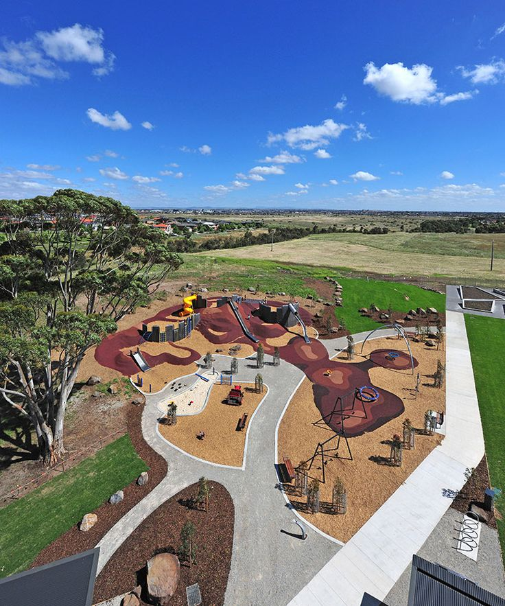 ASPECT Studios, isabella Williams Memorial Reserve Playground, Victoria Australia