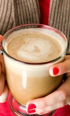 Skinny Pumpkin Spice Latte – your favorite fall drink just got a makeover! Less calories but still delicious!