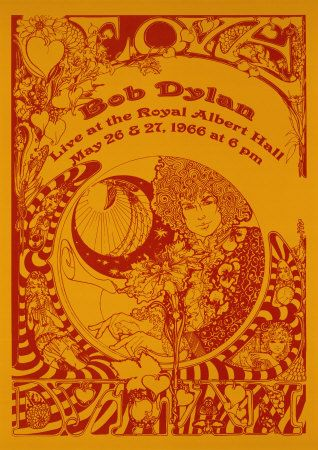 Bob Dylan, Live at the Royal Albert Hall, May 26 & 27, 1966 at 6 pm