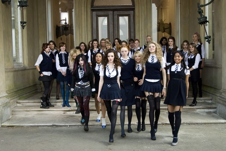 Always wanted to dress up as a St. Trinian's girl