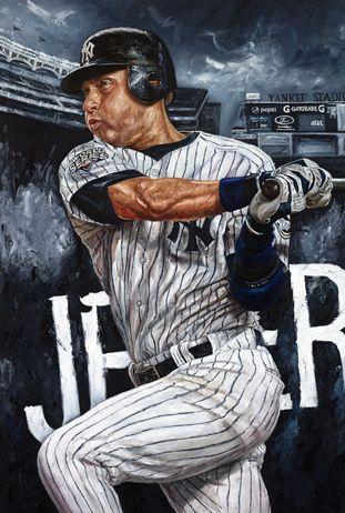 "Derek Jeter of the New York Yankees in ""New School"" by Justyn Farano."