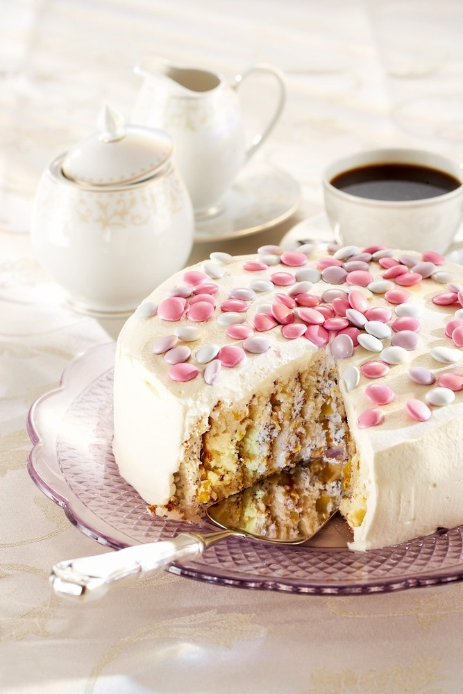 Marianne-mango-kieputuskakku | Kodin juhlat | Pirkka #food #cakes