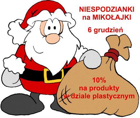 N I E S P O D Z I A N K I: PREZENT z okazji 6 grudnia