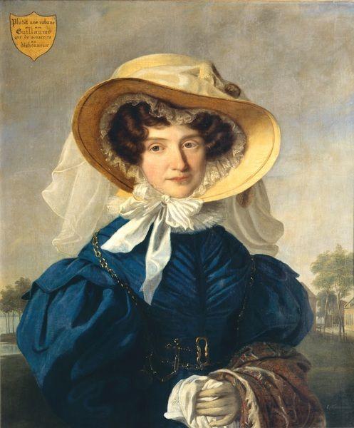 cornelis kruseman - Portrait, 1831