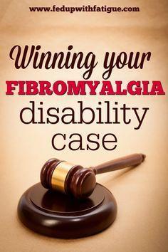 Winning your fibromyalgia disability case – Suzy Bee💋